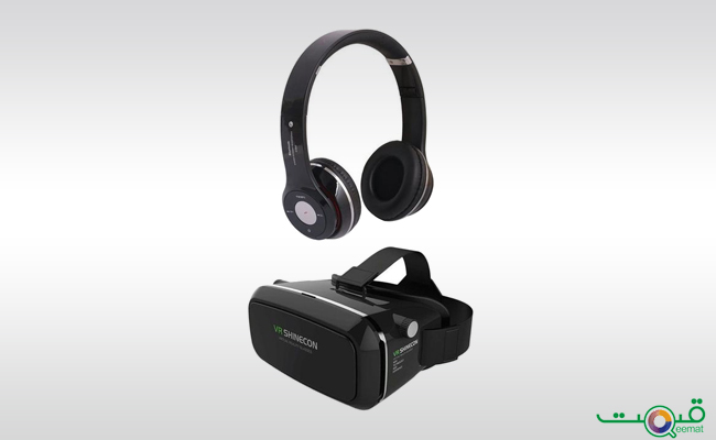 MetroTech Bundle of 2 - VR Box Shinecon 4th Generation Headphone