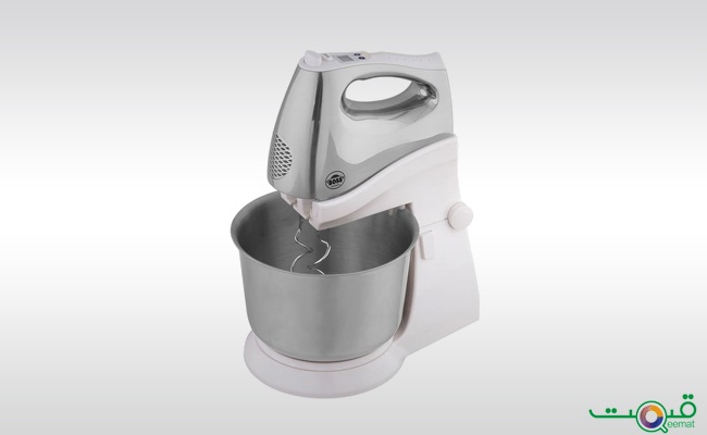 Boss Hand Mixer With Steel Bowl