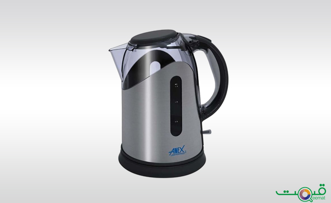 Anex Electric Kettle with Concealed Element