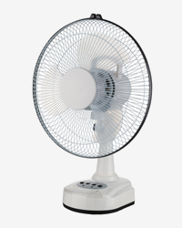 Lever Rechargeable Table Fan MB-9912
