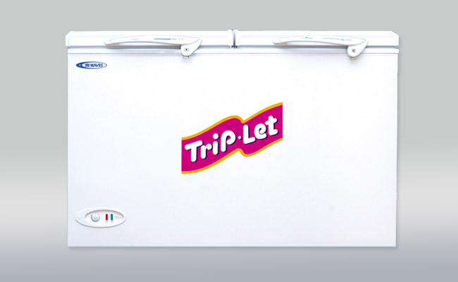 Waves Triplet Deepfreezer Advance2200tl White In Pakistan
