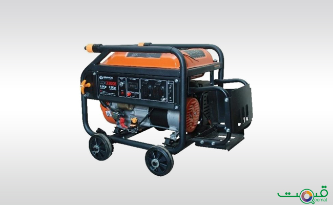 Daewoo Electric Start Petrol Generator