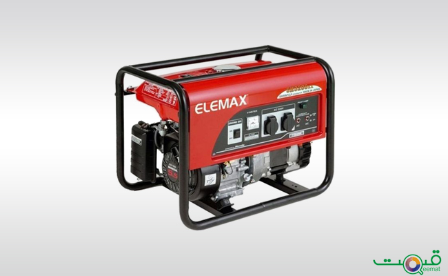 Elemax Petrol & Gas Generator Electric Start With Battery