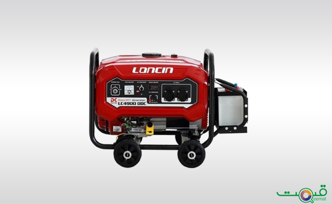 Loncin Petrol Generator with Wheels Kit