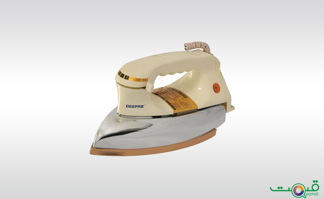 Geepas Dry iron Self Cleaning