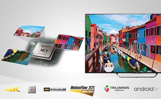 Sony Android 3D 4K LED TV | X Series