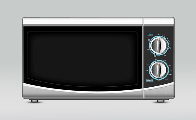 Haier Manual Microwave Oven Picture