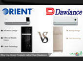Why Use Orient Products Rather Than Dawlance?
