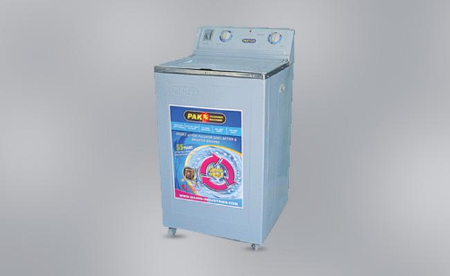metal washing machine